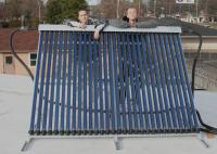 Finished and Operational Solar Collector